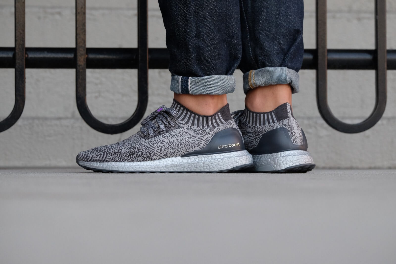 Adidas Ultra Boost Uncaged Solid Grey Silver Metallic BA7997
