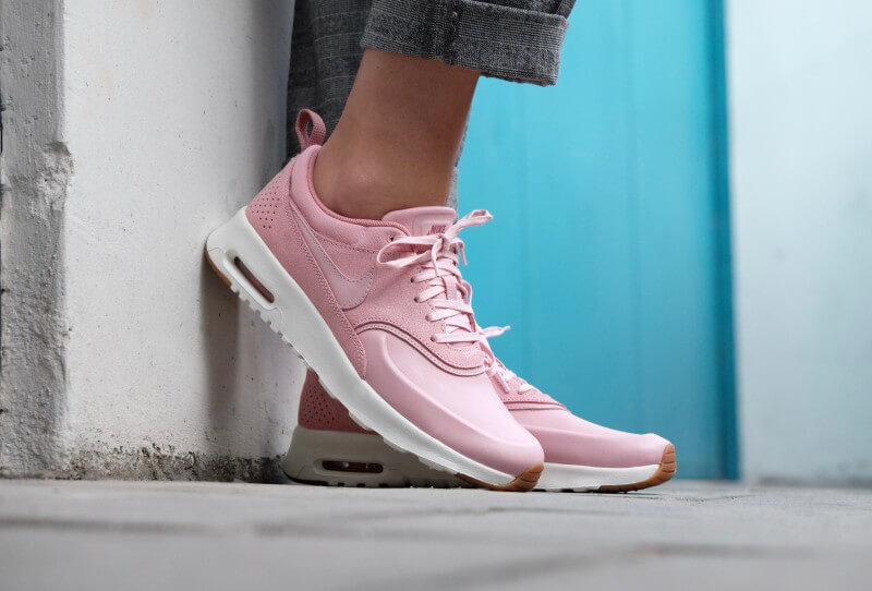 ba18adafe4ce Nike WMNS Air Max Thea PRM Pink Glaze Pink Glaze-Sail-Stardust - 616723-603