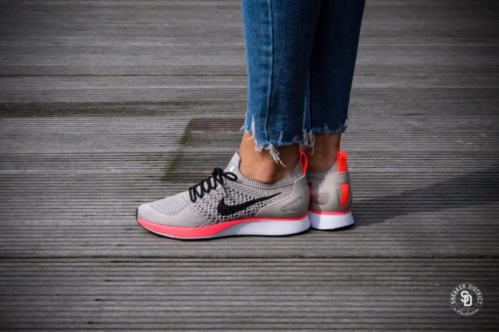 Nike W Air Zoom Mariah Flyknit Racer Prm String Black