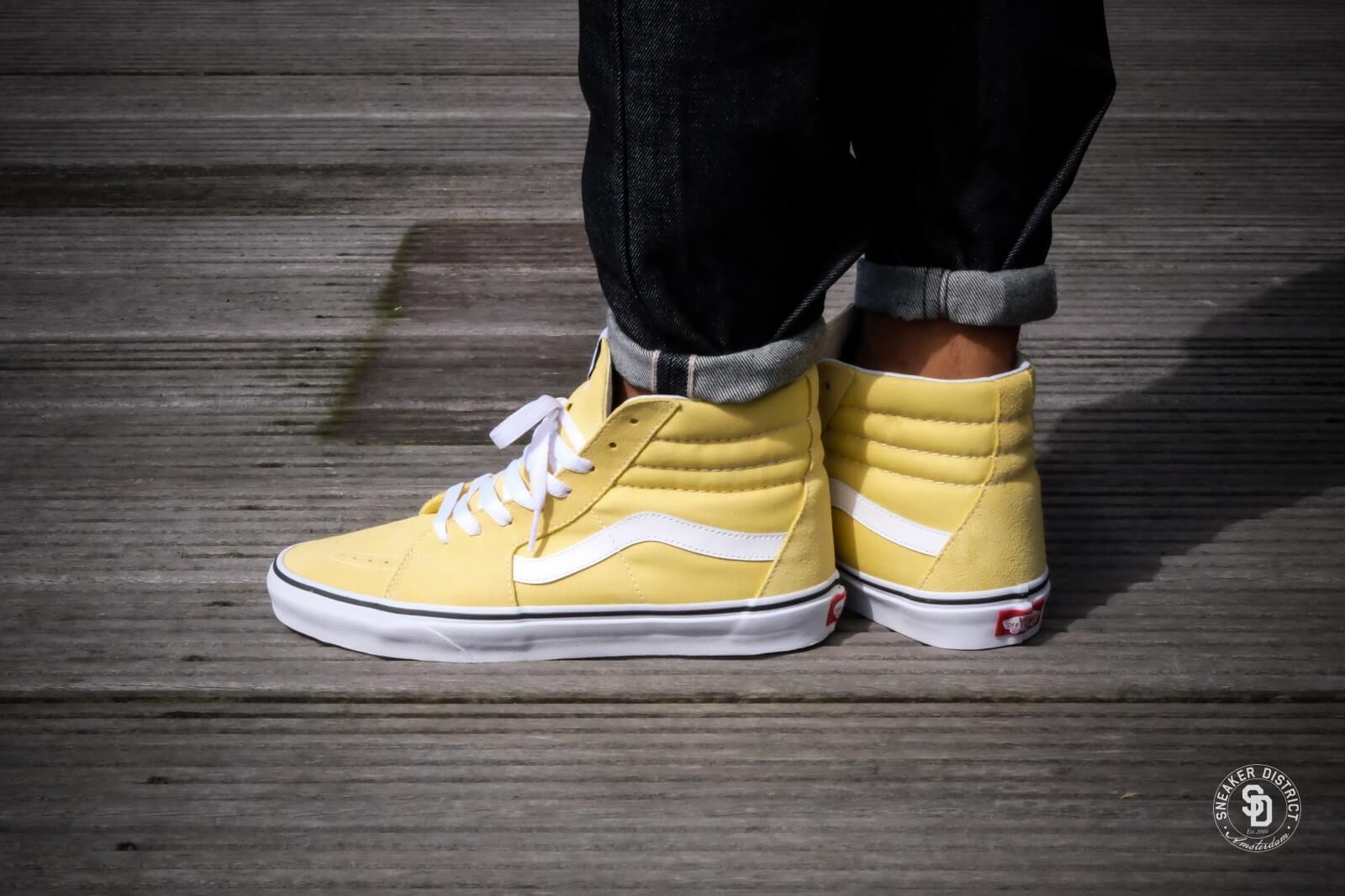 vans sk8 hi yellow - OFF62% - www