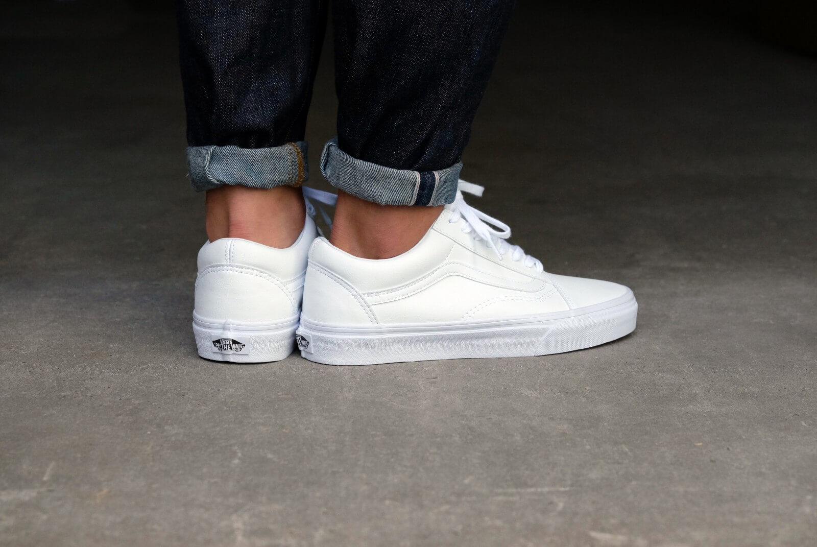 Vans Old Skool Classic Tumble True White Vn0a38g1odj
