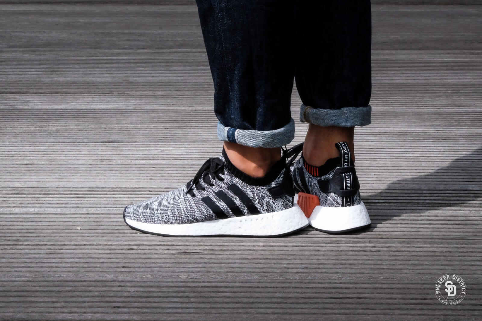 5f65f1bd1a15 Adidas Nmd R2 Pk Utility Black Core Black White Hers trainers CISMAI