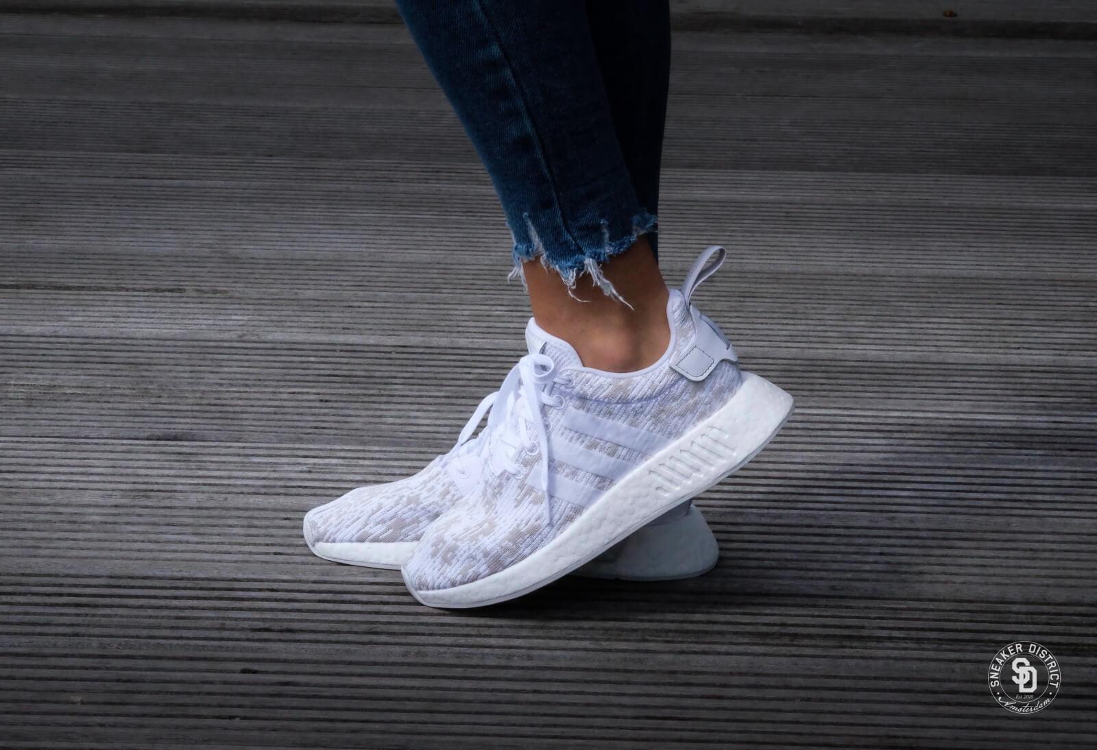 Adidas Nmd R2 W Footwear White Grey Two By8691