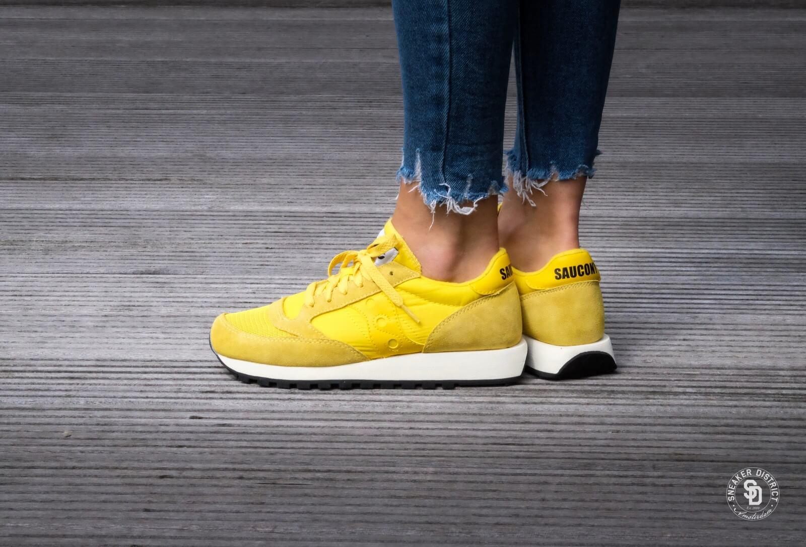 sale online on feet shots of release info on saucony jazz vintage yellow 50 off 65% - www.comprehensiveworklife.com