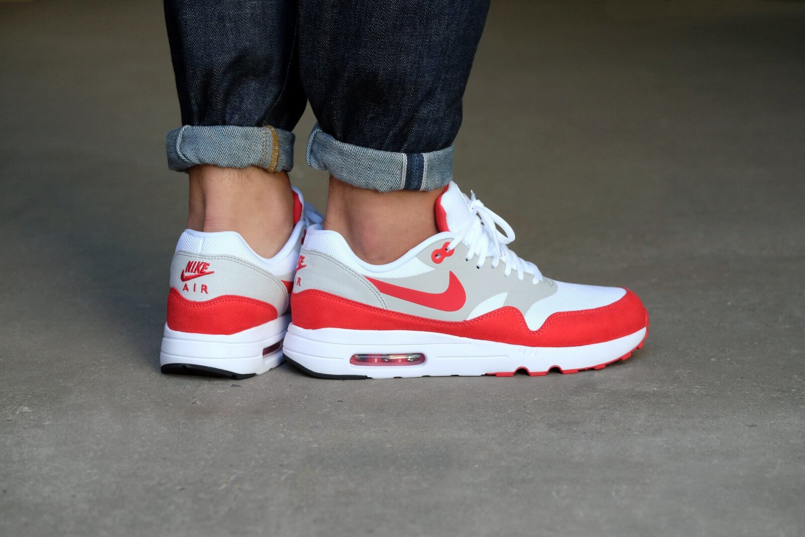Nike Air Max 1 Ultra 2.0 LE Air Max Day WhiteUniversity Red 908091 100