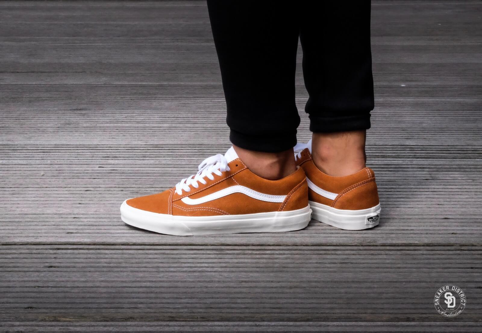 vans old skool glazed ginger
