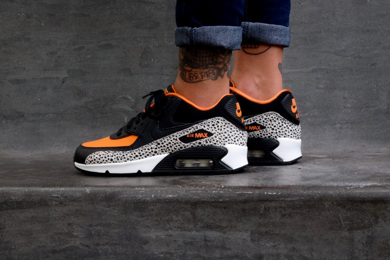 Nike Air Max 90 Safari (GS) 820340 100
