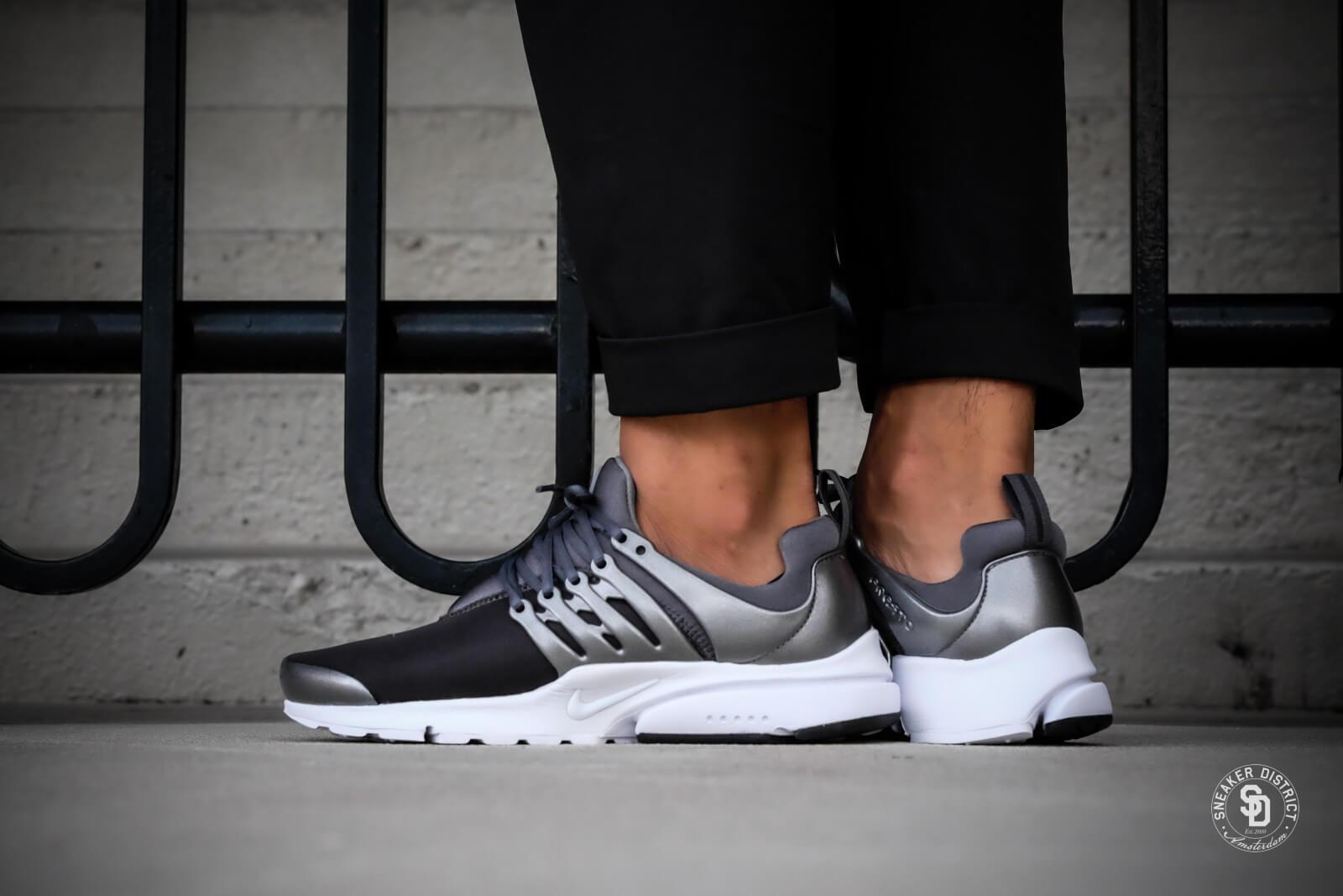 Nike Air Presto Premium Metallic Hematite Cool Grey 848141 003