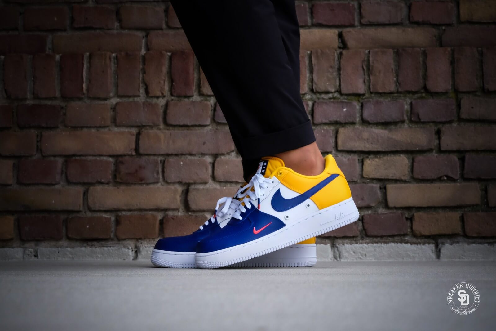 wholesale dealer ef856 fc150 ... top quality nike air force 1 07 lv8 deep royal blue deep royal blue  b230c c0bf0