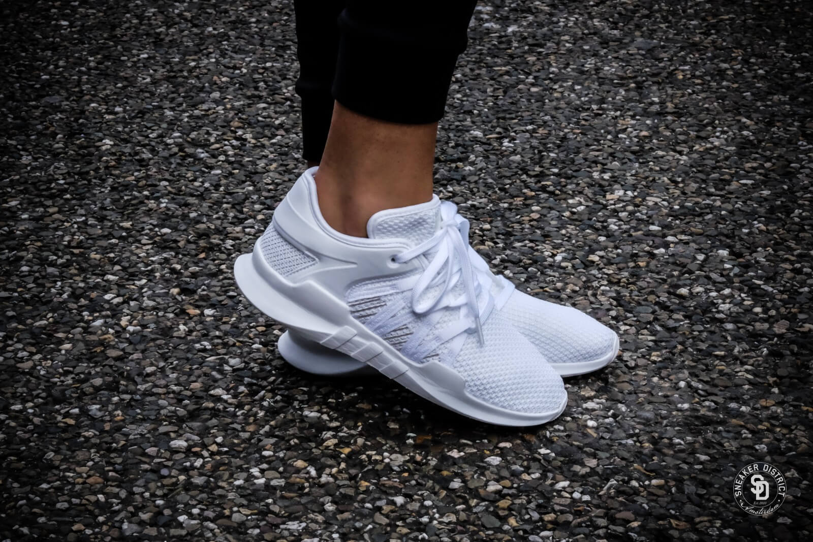 Adidas EQT Racing 91 Womens Originals Shoes Crystal White