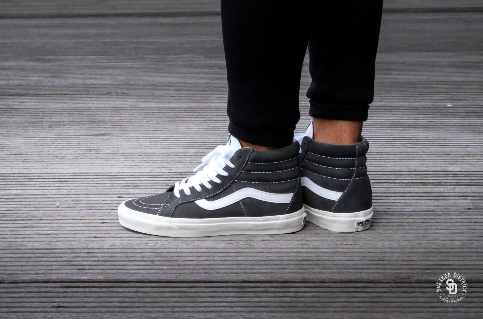 Vans Old Skool Sneaker Retro Sport Gunmetal Suede Women