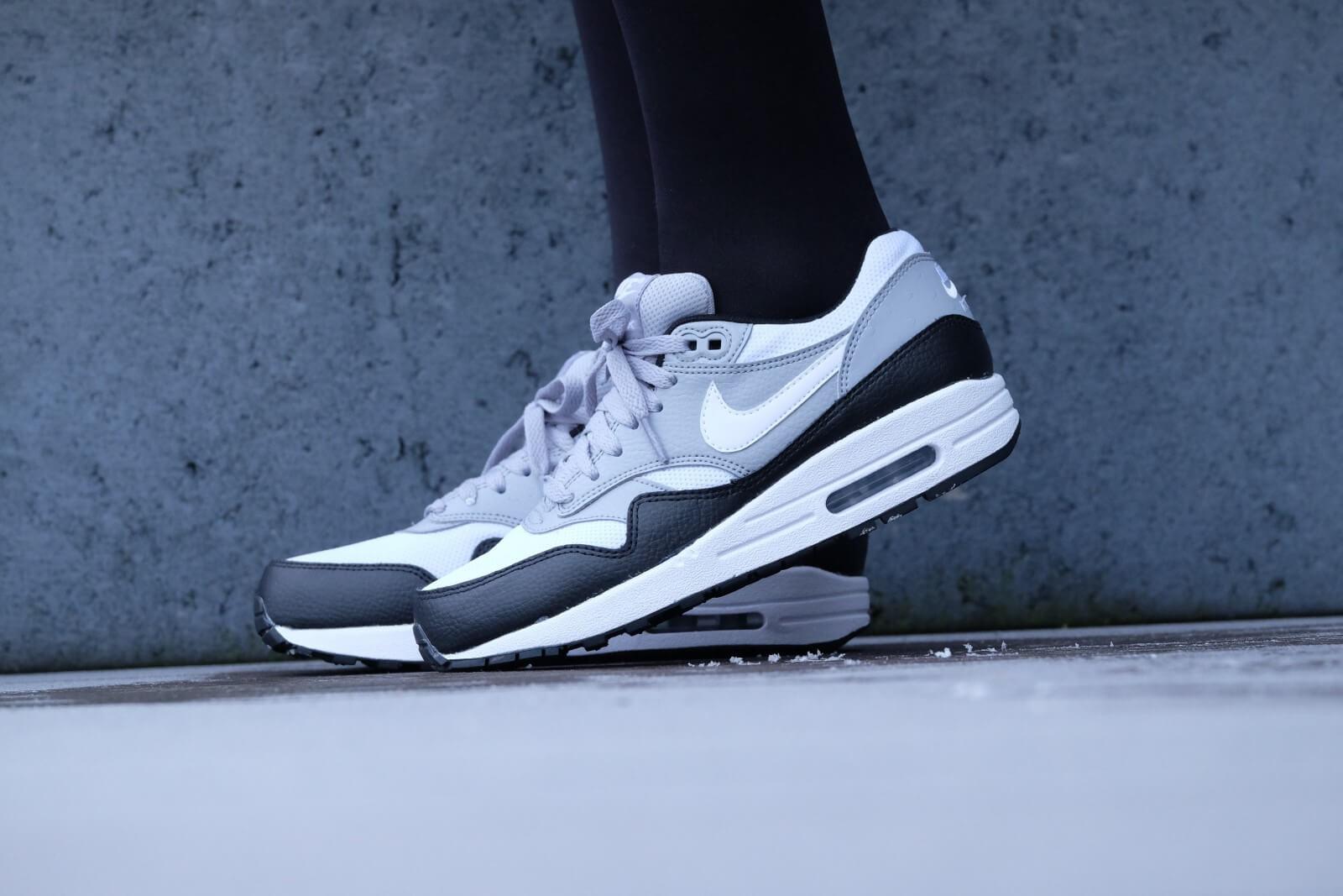 Nike Air Max 1 White Black Wolf Grey leoncamier.co.uk da3ff650f9