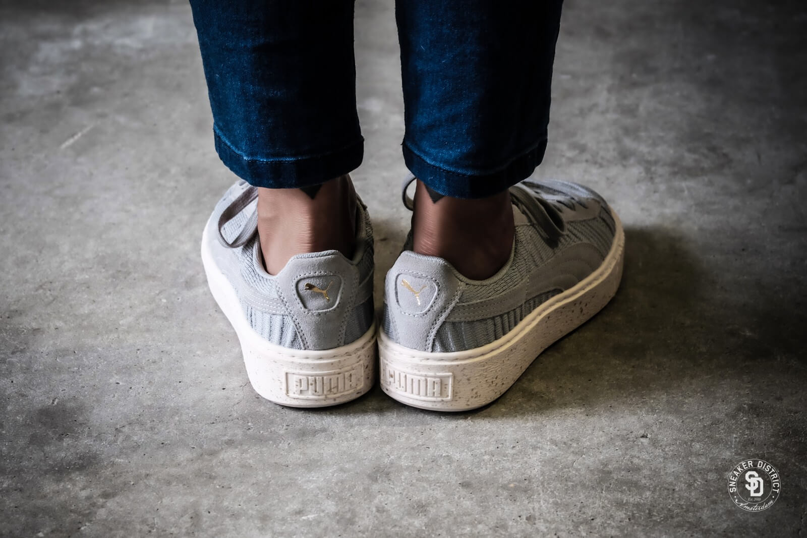 puma basket platform 35