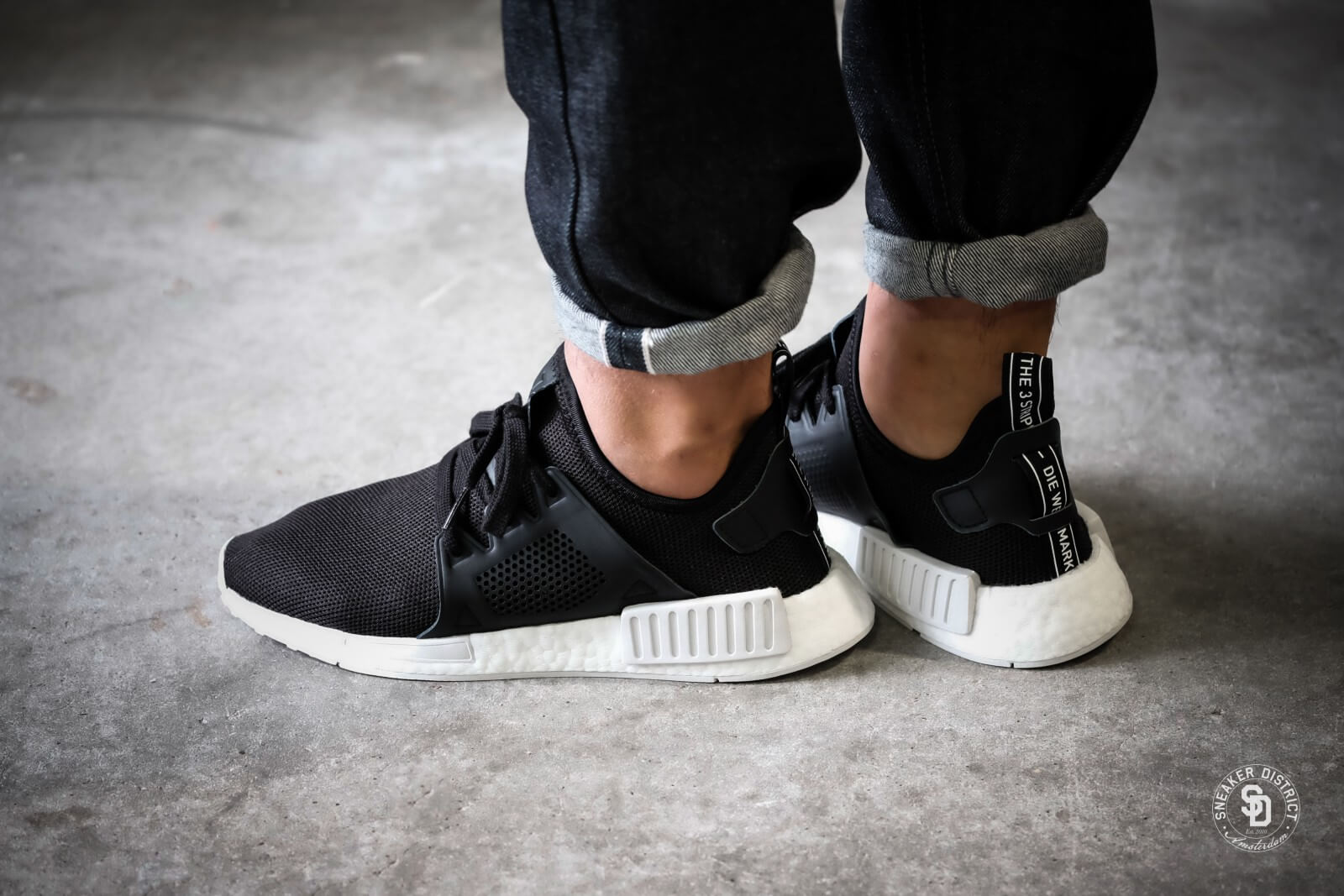Adidas Nmd Xr1 Core Black Footwear White By9921