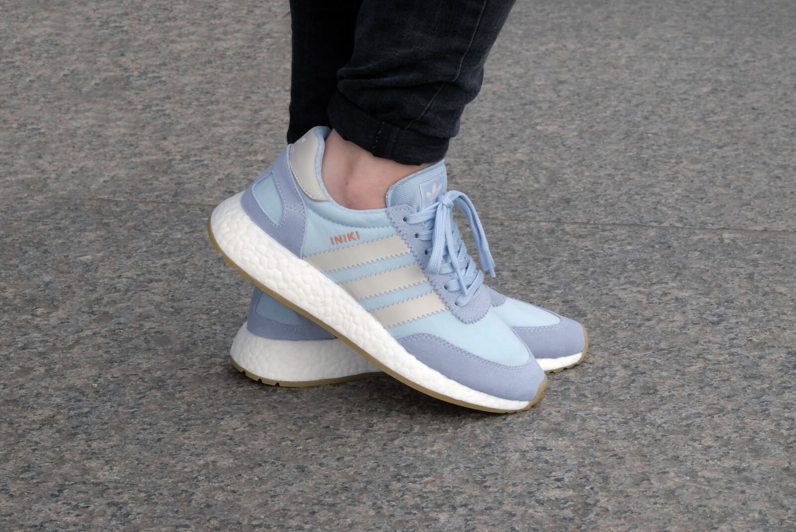 Adidas Iniki Runner Easy Blue & Pearl Grey | END.