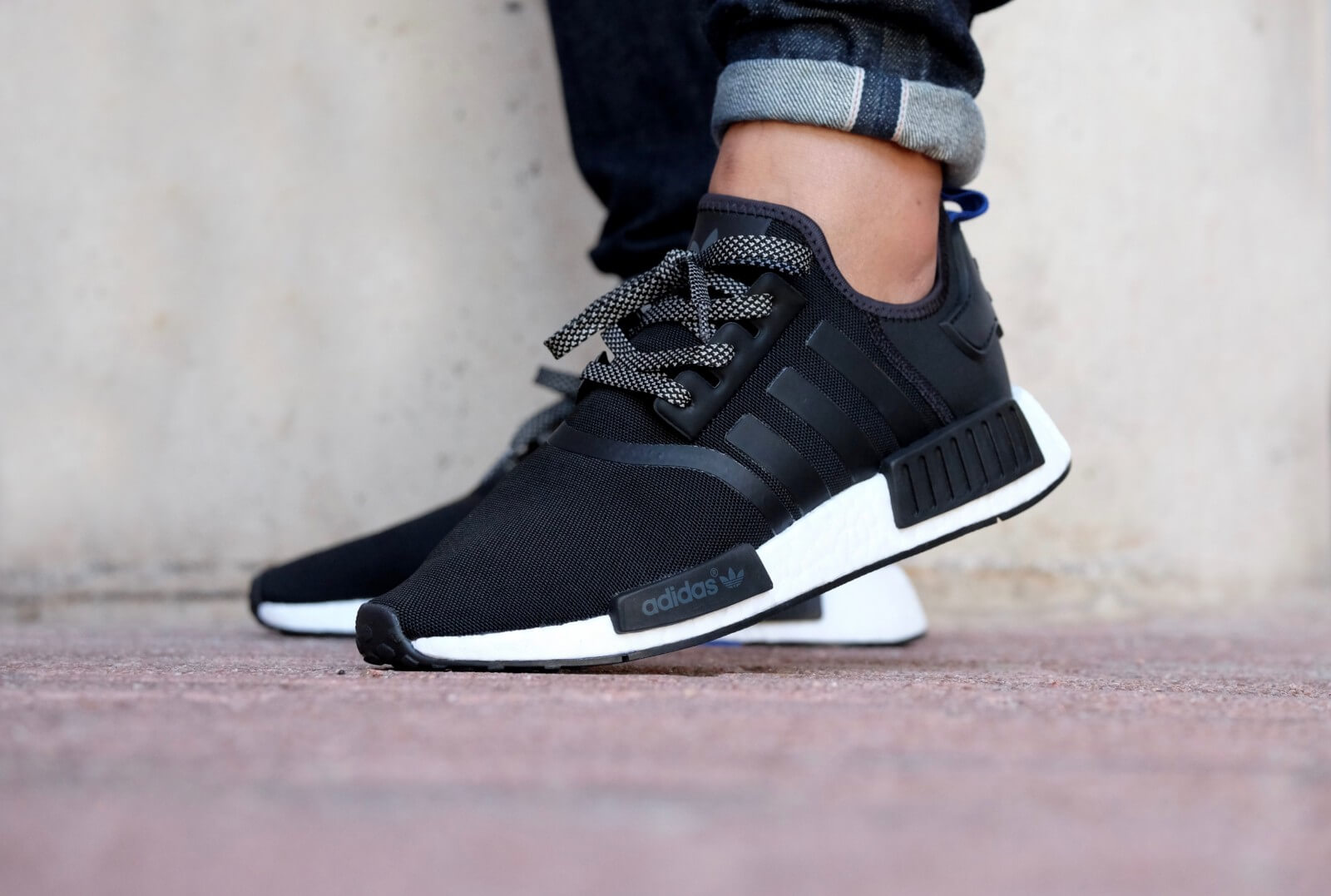 e4bf06011 Authentic Adidas NMD R1 Mesh Black Charcoal UK9 Shoes for sale