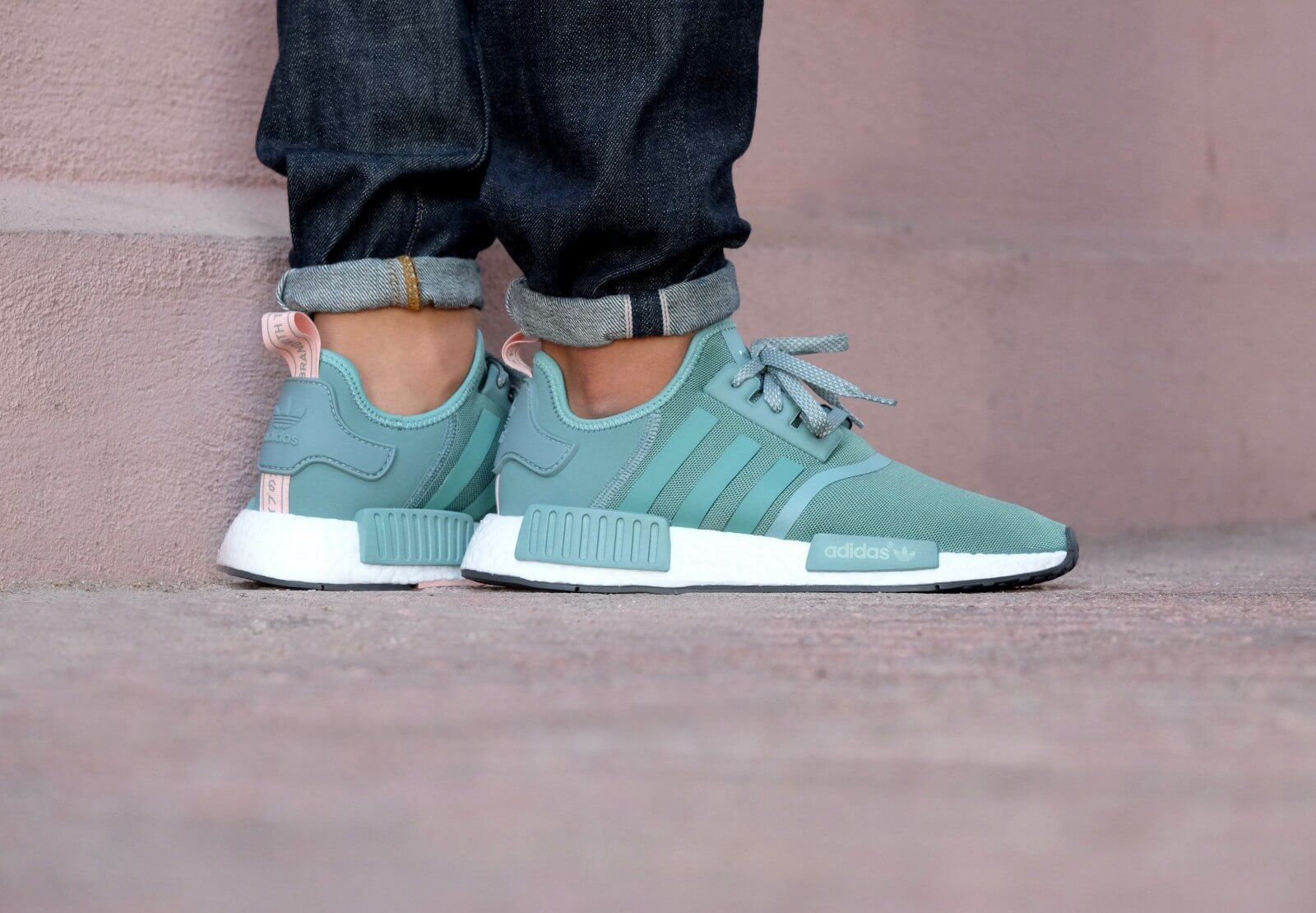 Adidas NMD R1 Vapour Steel Vapour Pink S76010