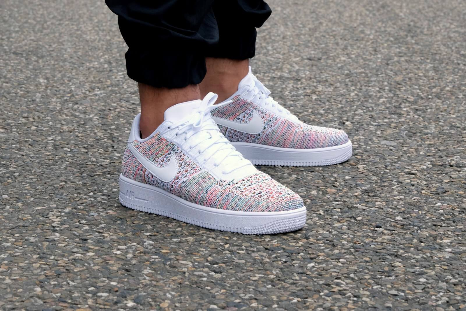 3e11bfcac721d The Nike Nike Air Force 1 Ultra Flyknit Low Yellow StrikeWhite-Bright  Crimson-White ...
