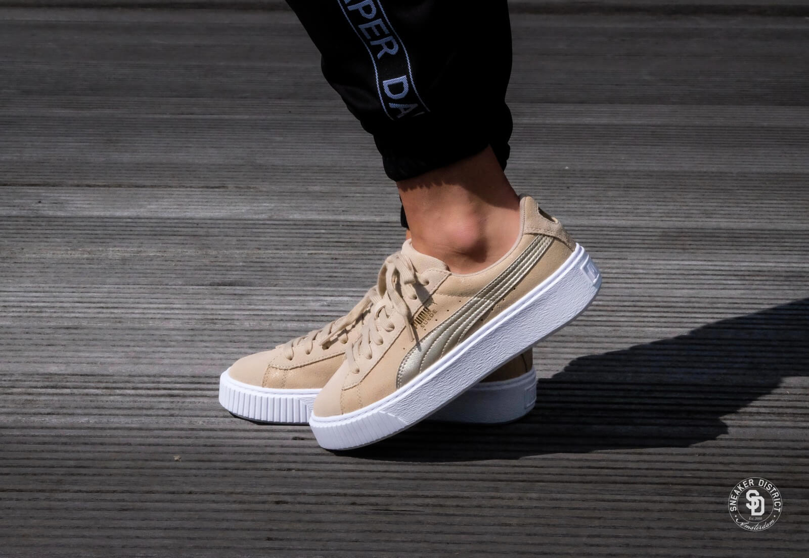 puma basket platform safari