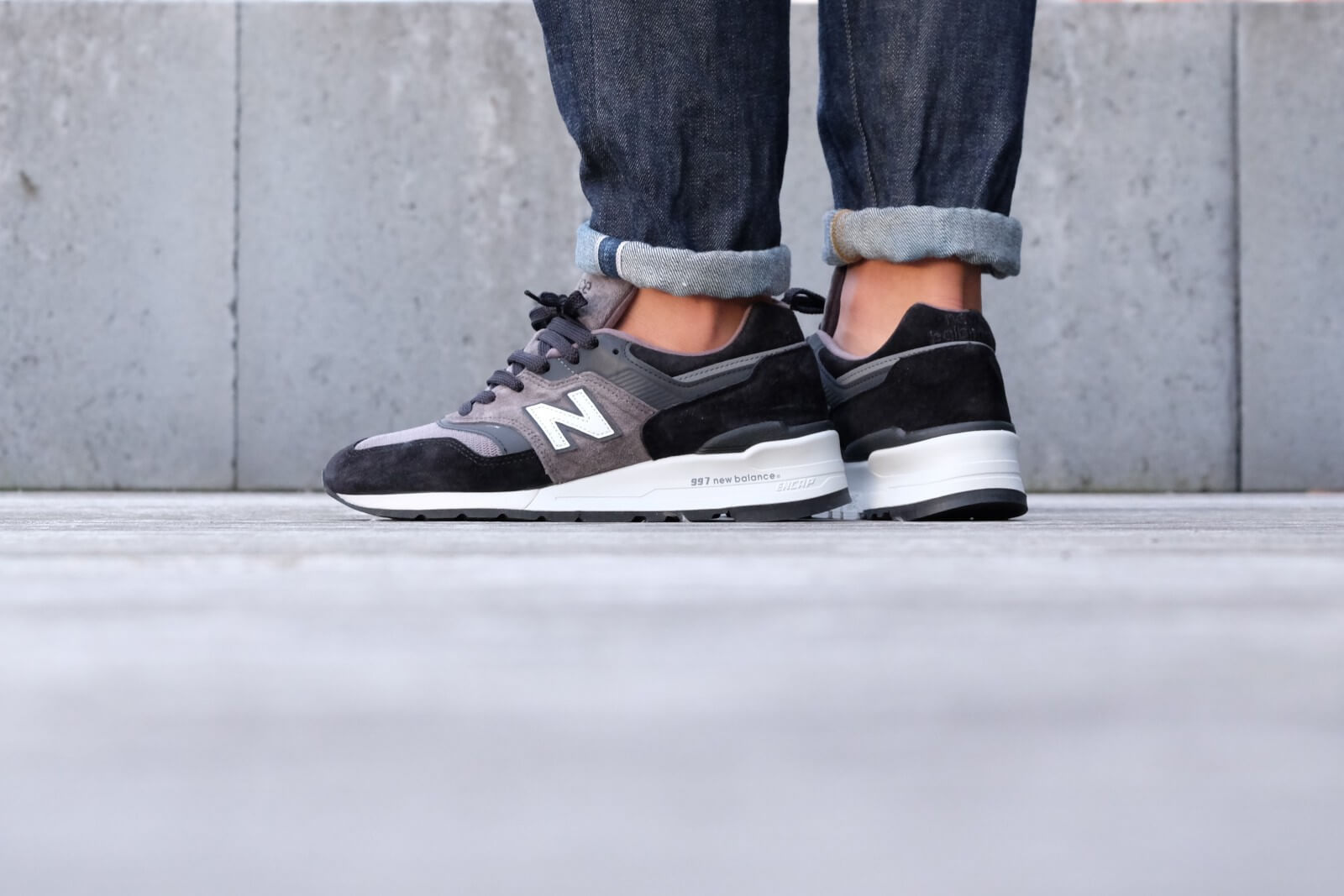 well known undefeated x fashion styles New Balance Made in USA - M997CUR - Black / Grey - M997CUR
