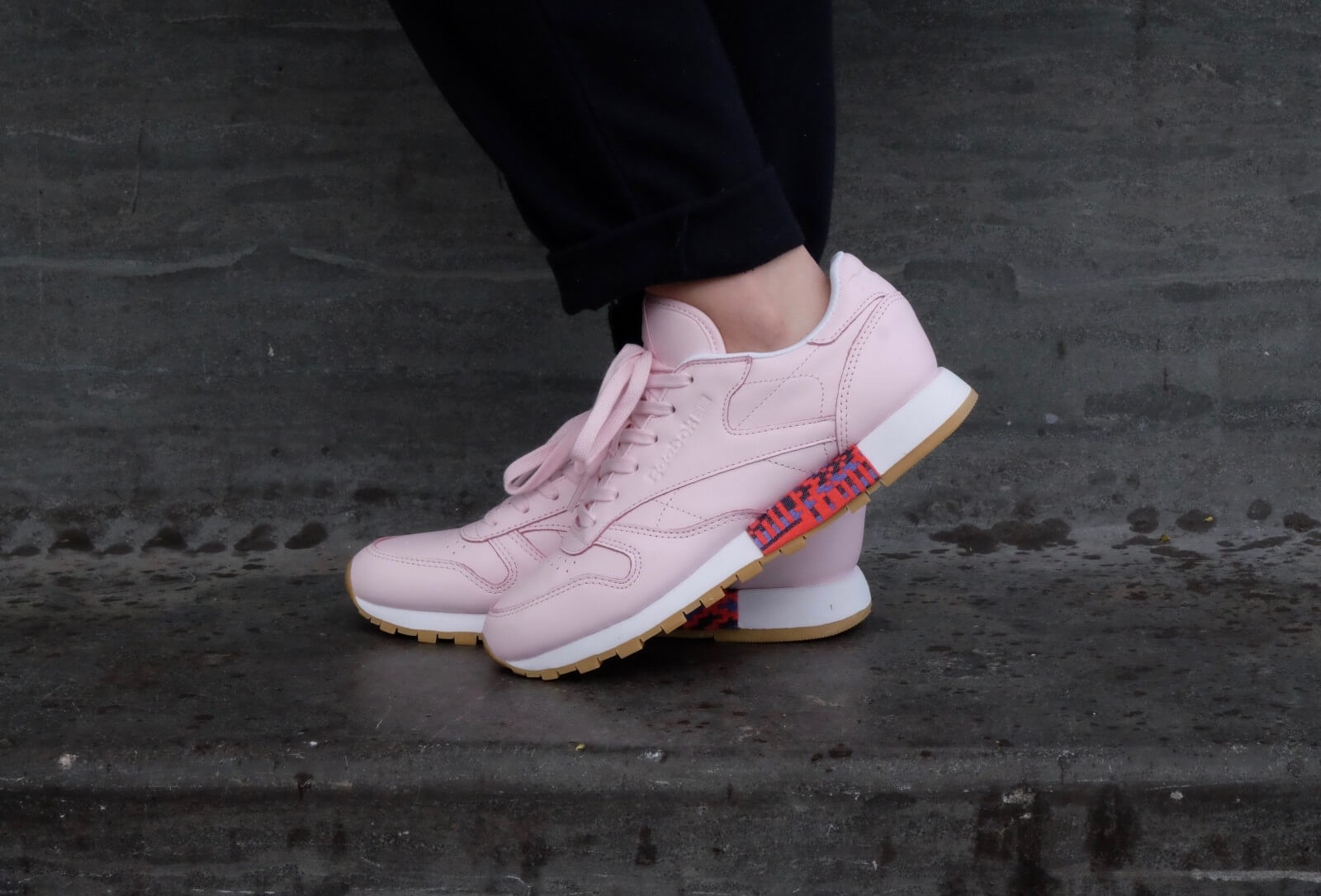 Reebok Classic Leather Old Meets New Porcelain Pink White Gum BD3155