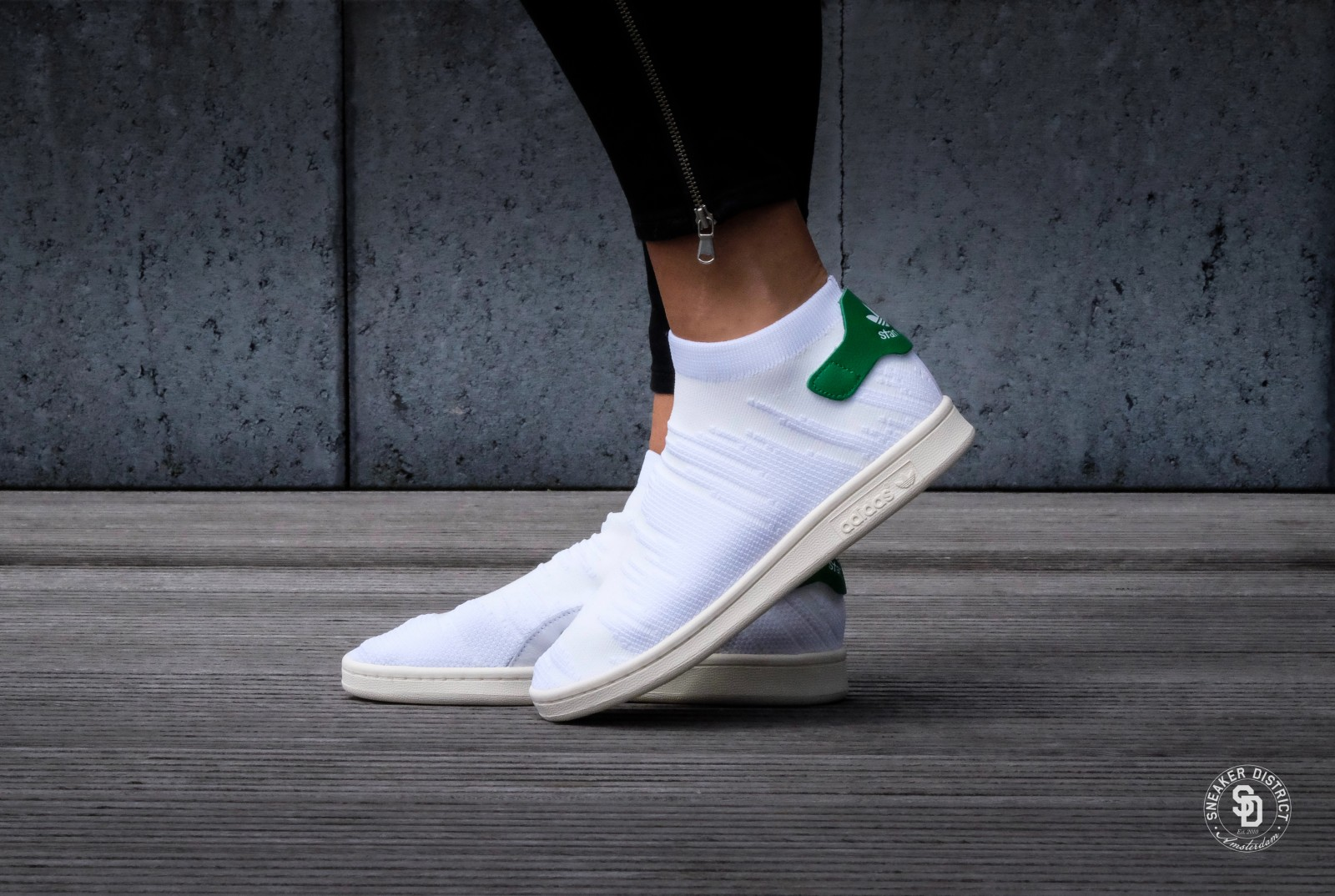 adidas stan smith sock review