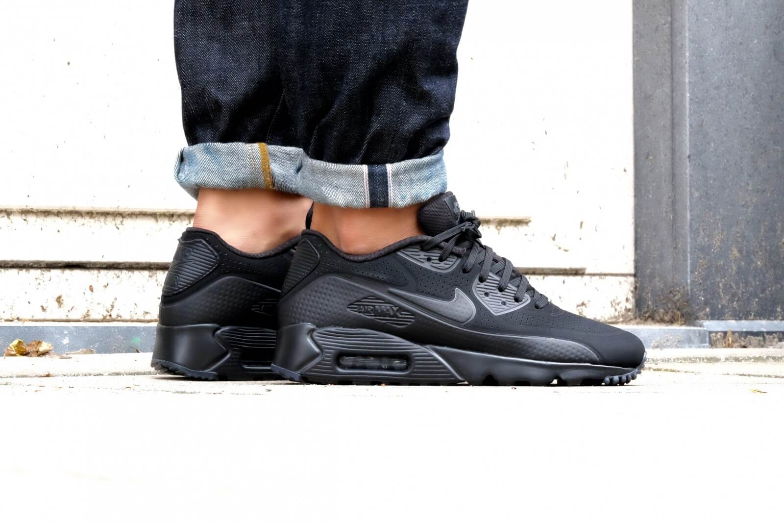 Nike Air Max 90 Ultra Moire Blackout 819477 010