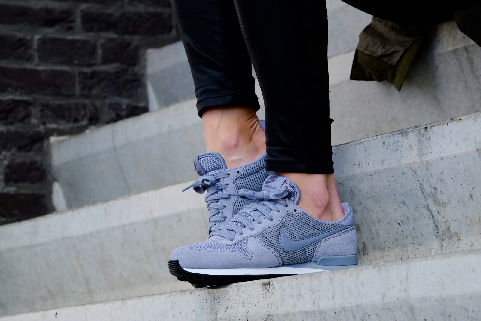 Nike Internationalist Women's Trainers, Stealth Dark Grey