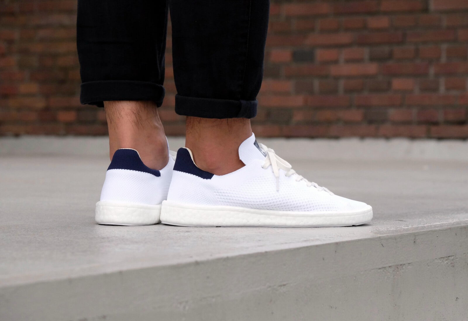 big sale cost charm new arrival Adidas Stan Smith Boost PK Footwear White/Core White - BB0012