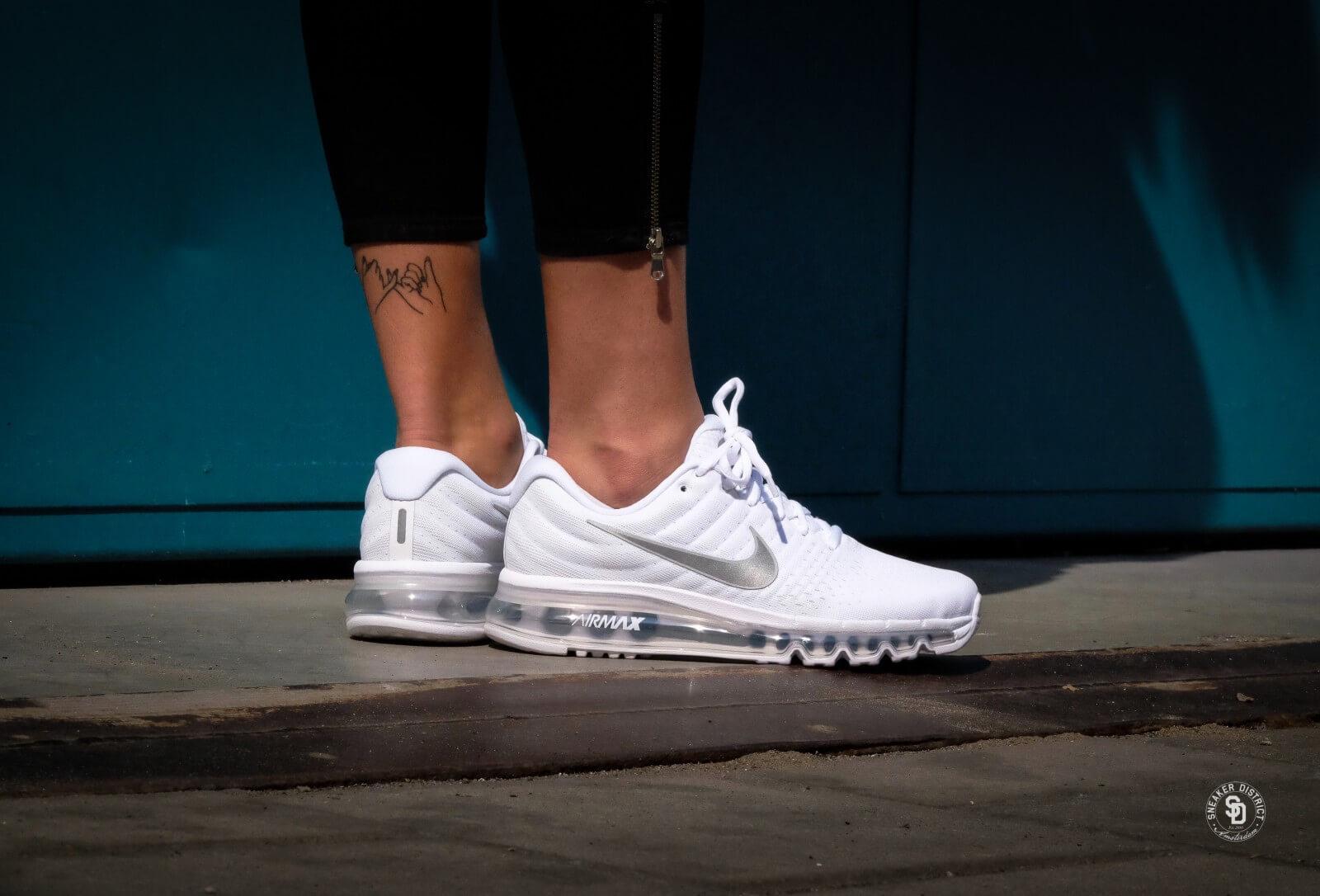 Nike Air Max 2017 (GS) White/Metallic Silver - 851622-100