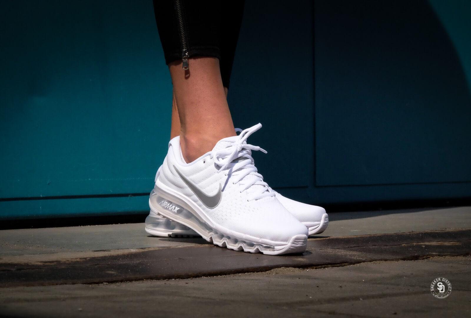 Air Max 2017 Nike Air Max 2017 (GS) White/Metallic Silver - 851622-100
