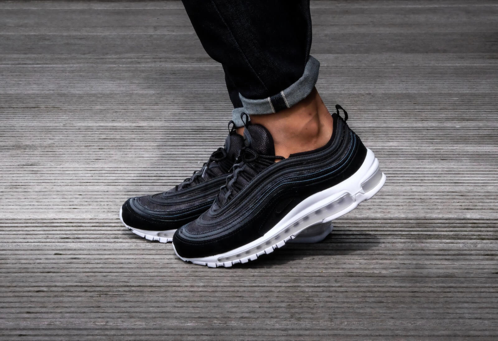 Cheap Nike Air Max 97 Ultra 2017 lifestyle casual shoes fashion mens black