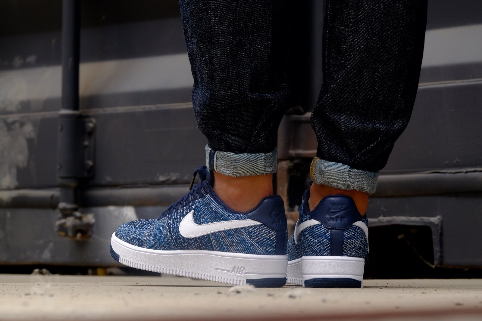 nike air max 1 flyknit heren