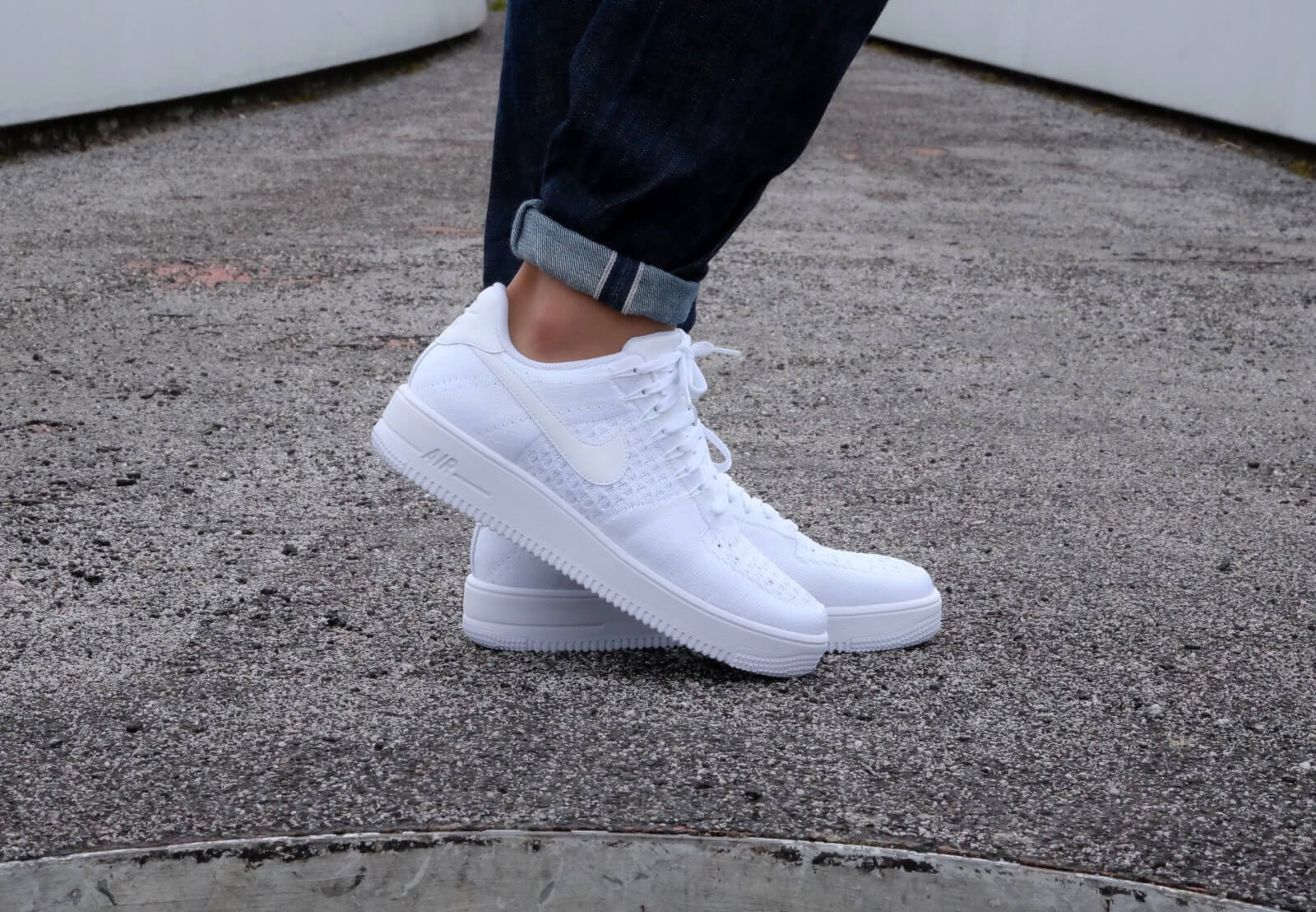 nike air force 1 ultra flyknit low white 817419101