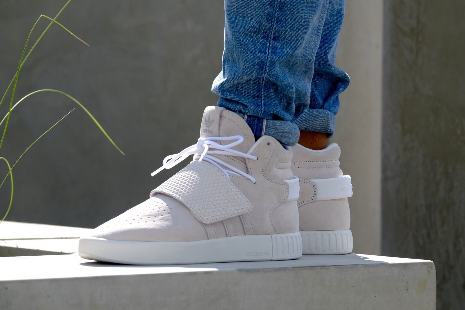 Adidas Tubular Invader White