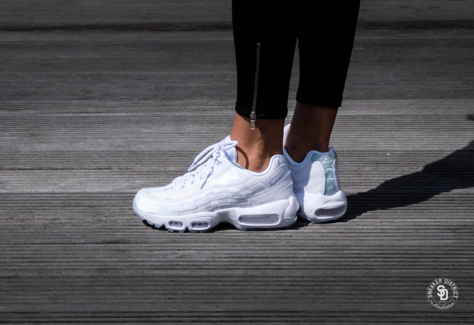 Nike WMNS Air Max 95 SE White/Pure Platinum-Ice - 918413-100