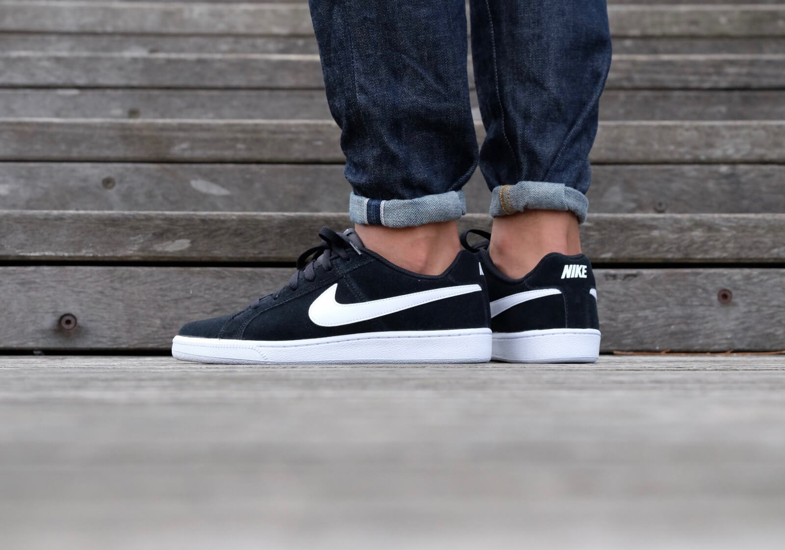 Nike Court Royale Suede Black White 819802 011