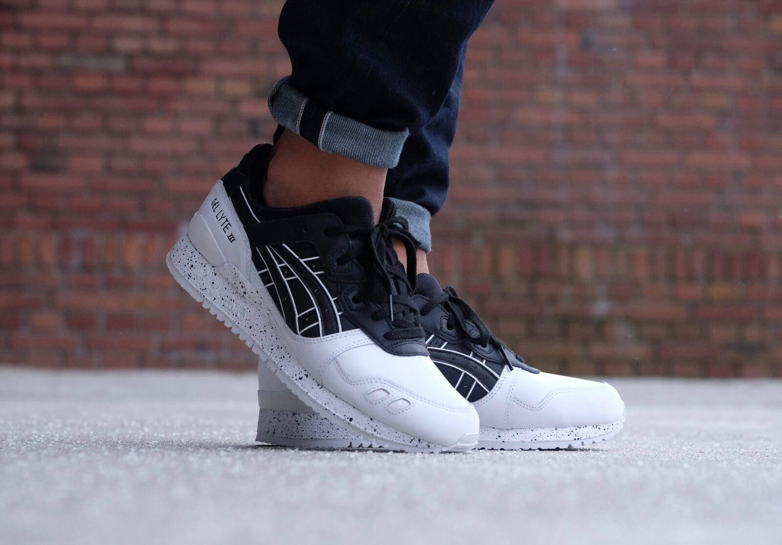 separation shoes 1dfb4 8f434 gel lyte iii black