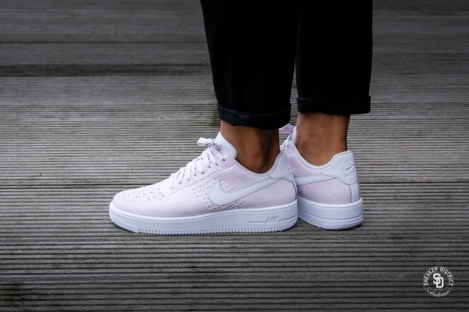 Nike Air Force 1 Ultra Flyknit Low Light VioletWhite 817419