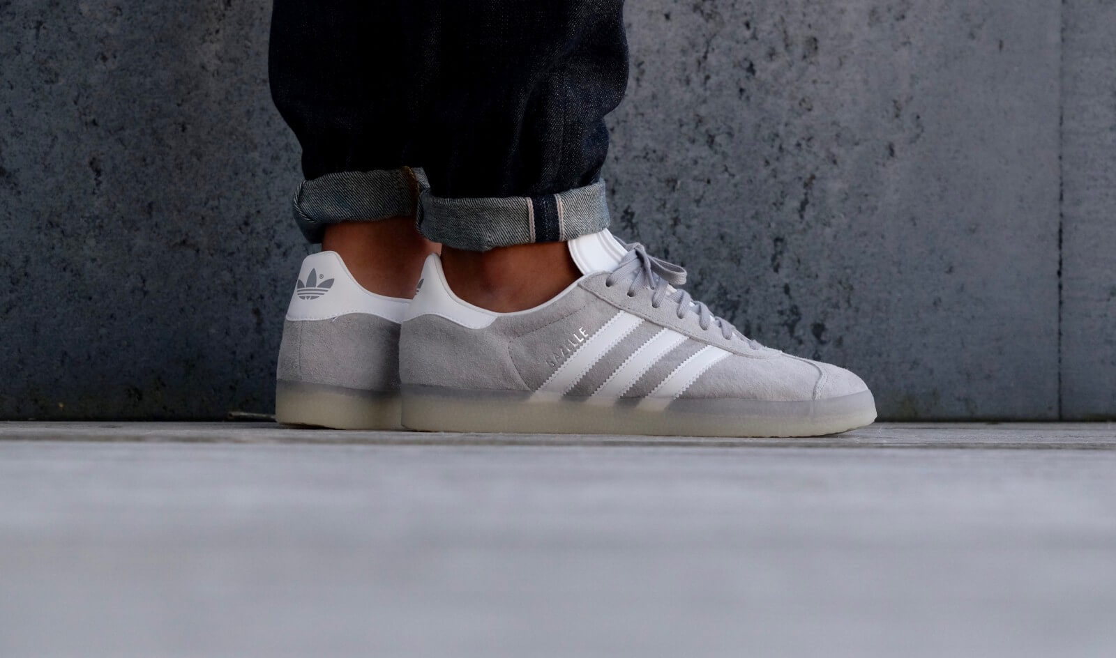 Adidas Gazelle Mid Grey White BB5502