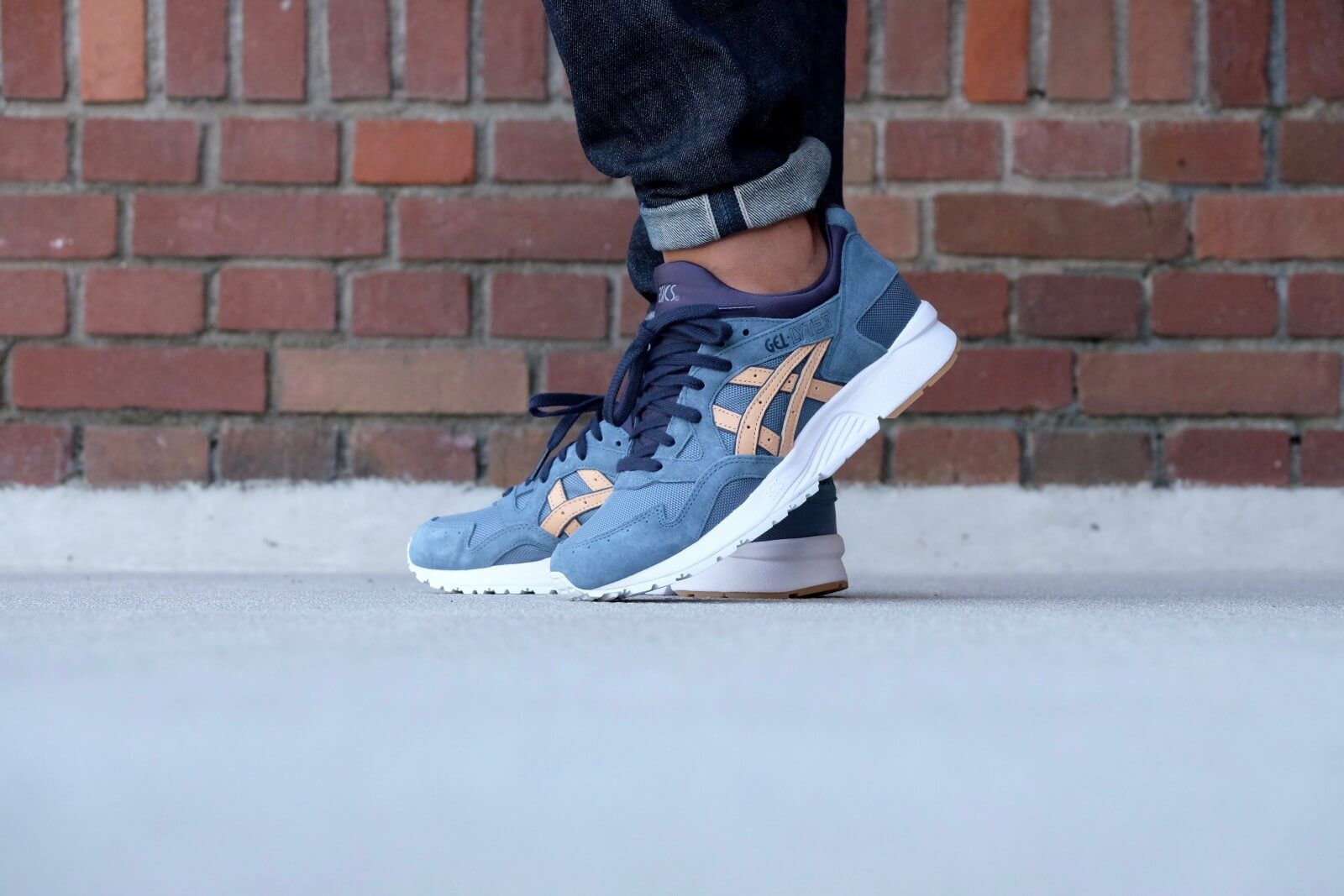 new arrival 0bdc9 b9035 asics gel lyte blue mirage