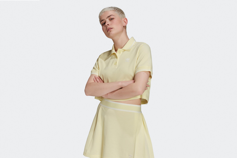 Adidas Women's Polo Haze Yellow