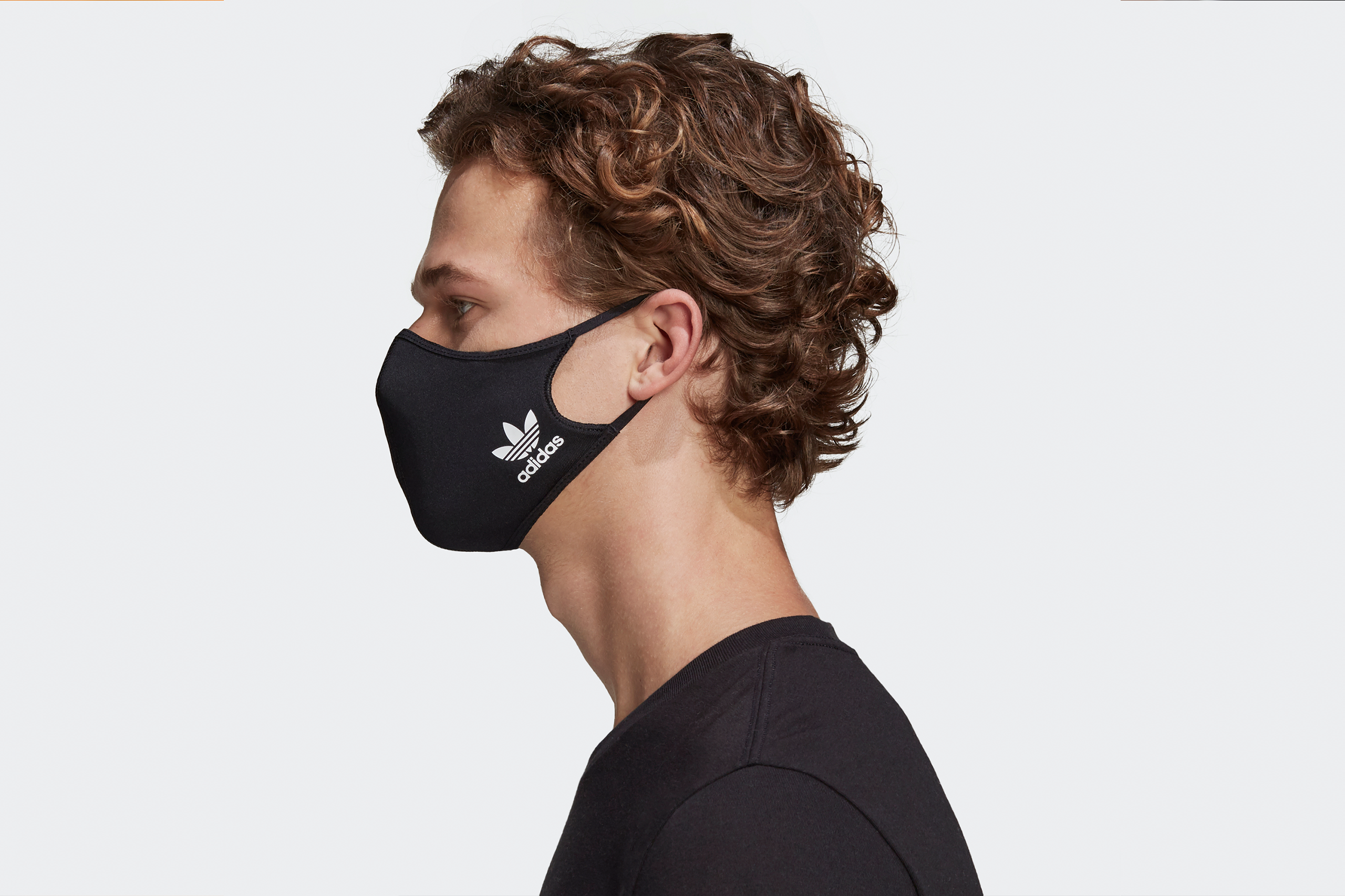 Adidas Face Cover 3-Pack Black