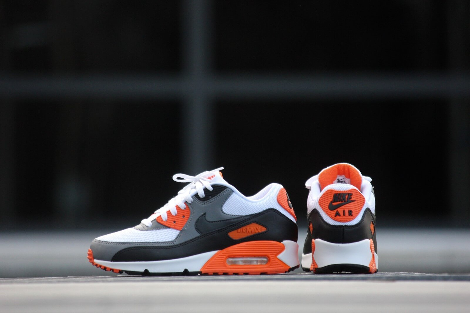 finest selection 9ef70 d7c9c ... coupon code nike air max 90 essential white anthracite cool grey orange  d3122 456ab