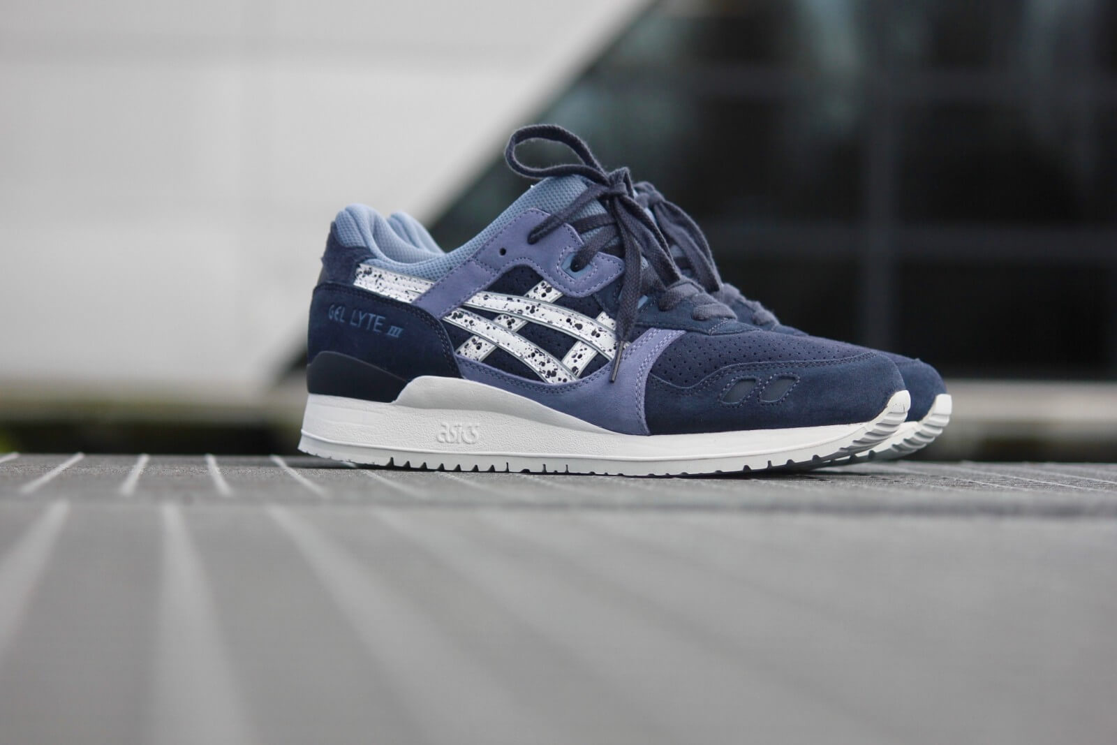 Asics Gel Lyte III Indian Ink/White - H6B2L-5001