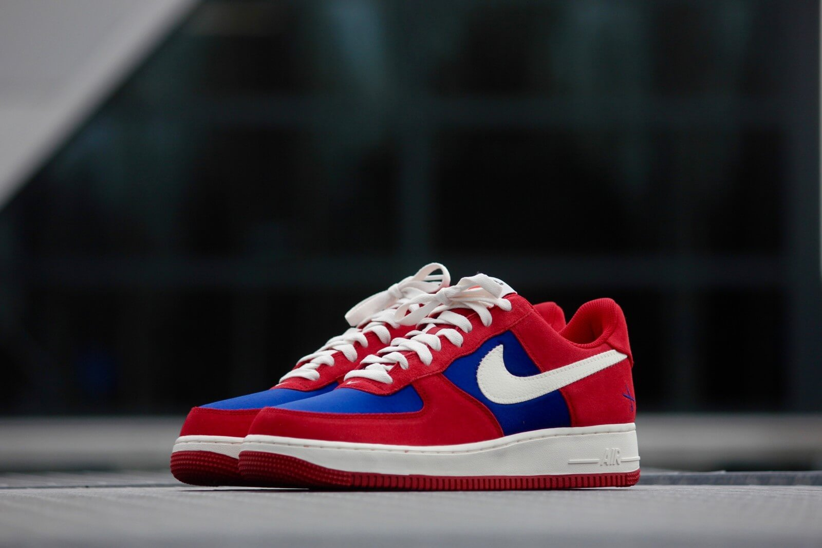 Nike Air Force 1 Gym Red Sail Deep Royal Blue 488298 626