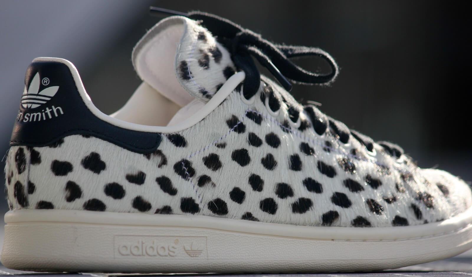 adidas stan smith white leopard print s75117. Black Bedroom Furniture Sets. Home Design Ideas