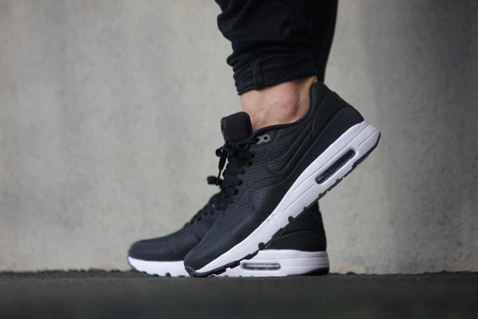 3a24f441d ... Nike Air Max 1 Ultra Moire Black black  White - 705297-013 .