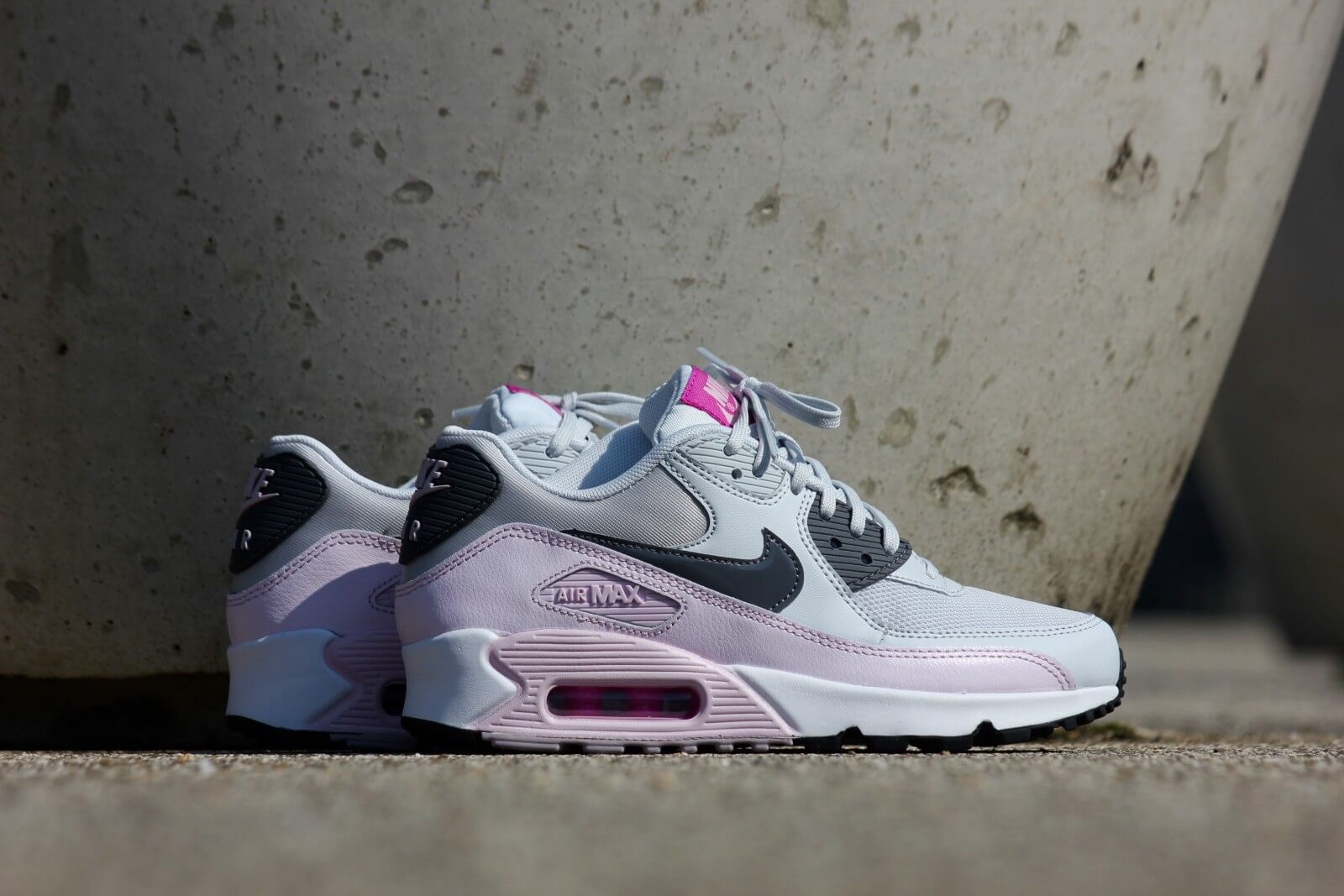 Nike WMNS Air Max 90 Essential Pure Platinum Dark Grey 616730 112