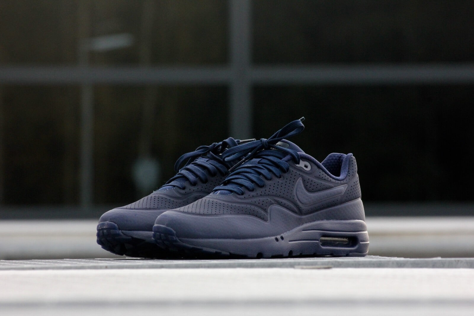 Nike Air Max 1 Ultra Moire Midnight Navy 705297 404